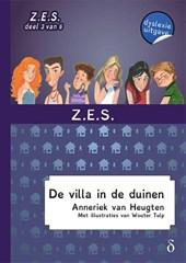 Z.E.S. De villa in de duinen - dyslexie uitgave