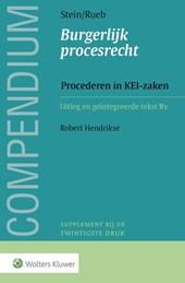 Compendium van het Burgerlijk procesrecht, Procederen in KEI-zaken