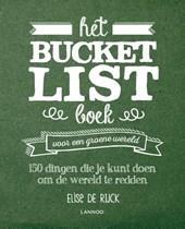 Het Bucketlist boek voor een groene wereld