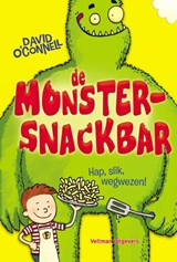 De Monstersnackbar - Hap, slik, wegwezen! | David O'connell | 9789048309818