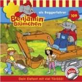 Benjamin Blümchen 109. ... als Baggerfahrer. CD