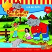 Benjamin Blümchen 114 und der Delfin. CD
