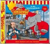 Benjamin Blümchen 123. in der Spielzeugfabrik. CD