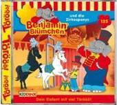 Benjamin Blümchen 125. und die Zirkusponys. CD