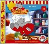 Benjamin Blümchen 023. als Koch. CD