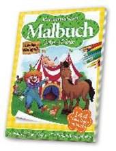 Malbuch Zirkus & Pferde