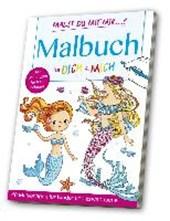 Malbuch für Dich & Mich: Meerjungfrauen & Meerestiere