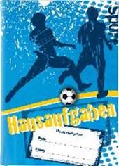 Hausaufgabenheft A5 Fussball, blau