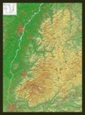 Schwarzwald 1 : 200 000 mit Rahmen