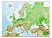 Reliefkarte Europa Gross 1 :
