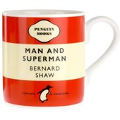 Penguin mug - man and superman: george bernard shawreferentieartikel engels boek