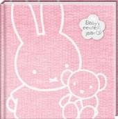 Nijntje 1e jarenboek vrk. roze