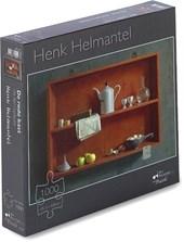 Henk Helmantel – De rode kast - Puzzel 1000 stukjes - 48,5x68 cm  -  10-99 jaar