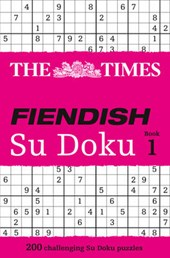 Times Fiendish Su Doku Book