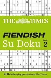 Times Fiendish Su Doku Book
