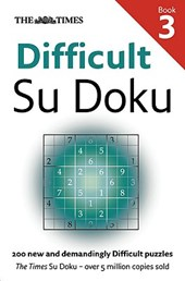 The Times Difficult Su Doku Book