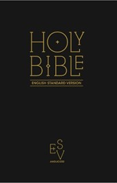 Holy Bible: English Standard Version (ESV) Anglicised Black