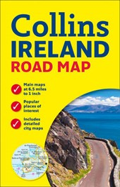 Collins Ireland Road Map