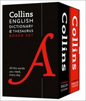 Collins English Dictionary and Thesaurus Set