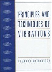 Principles and Techniques of Vibrations