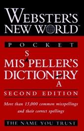 Webster's New WorldTM Misspeller's Dictionary (Pocket)