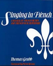 Singing in French
