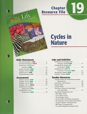 Holt Science & Technology Life Science Chapter 19 Resource File