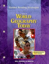 Holt World Geography Today Guided Reading Strategies | auteur onbekend |