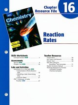 Holt Chemistry Chapter 16 Resource File |  |