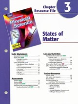 Holt Science Spectrum Physical Science Chapter 3 Resource File | auteur onbekend |