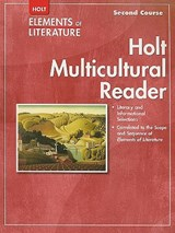 Holt Elements of Literature Multicultural Reader, Second Course |  |