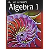 Algebra 1, Grades 9-12