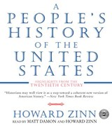 A People's History of the United States CD | Howard Zinn |