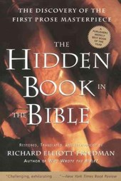The Hidden Book in the Bible | Richard Elliott Friedman |