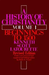 A History of Christianity Volume I