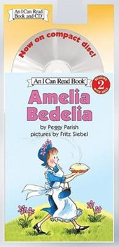 Amelia Bedelia Book and CD [With CD] | Peggy Parish |