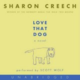 Love That Dog CD | Sharon Creech |