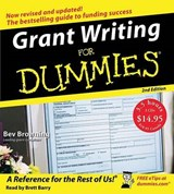 Grant Writing for Dummies | Beverly Browning |