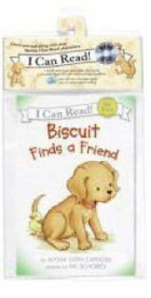 Biscuit Finds a Friend Book and CD [With CD (Audio)]