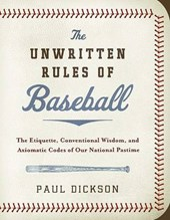 The Unwritten Rules of Baseball