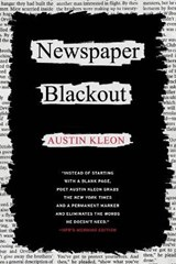 Newspaper Blackout | Austin Kleon |