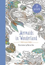 Mermaids in Wonderland 20 Postcards | Marcos Chin |