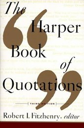 The Harper Book of Quotations | Robert I. Fitzhenry |