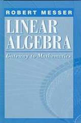 Linear Algebra | Robert Messer |