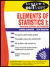 Schaum's Outline of Elements of Statistics I