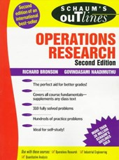 Schaum's Outline of Theory and Problems of Operations Research | Bronson, Richard ; Naadimuthu, Govindasami |