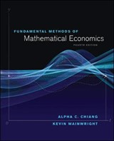 Fundamental Methods of Mathematical Economics | Chiang, Alpha C. ; Wainwright, Kevin |