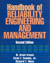 Handbook of Reliability Engineering and Management 2/E | W. Ireson |