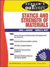 Schaum's Outline of Theory and Problems of Elementary Statics and Strength of Materials