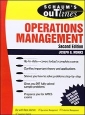 Schaum's Outline of Operations Management | Joseph Monks |